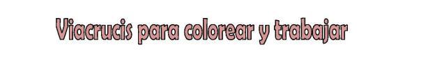 para colorear y trabajar