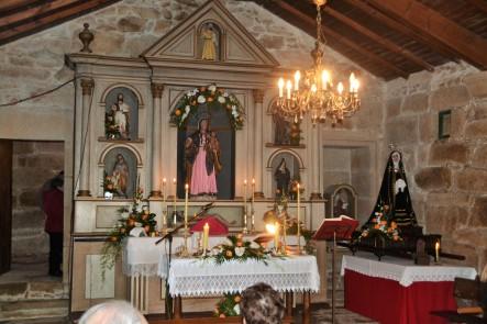 Interior Capilla de San Blas