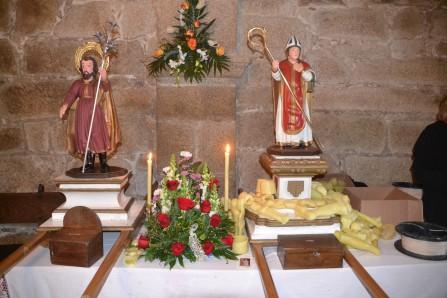 Imágenes de San José y San Blas
