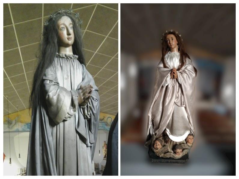 Antiguas Inmaculada y Virgen de los Dolores-COLLAGE